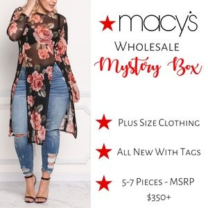 NWT Macys Wholesale PLUS SIZE Mystery Box!